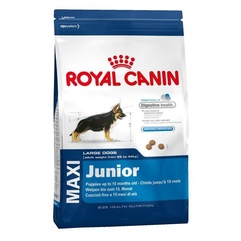 Сухой корм Royal Canin Maxi junior для щенков крупных пород от 2 до 15 месяцев (4 кг)