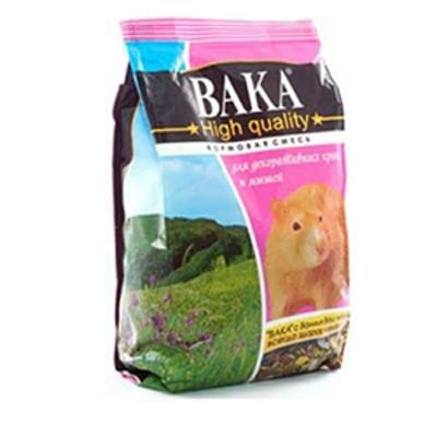 Корм Вака High Quality  для крыс и мышей (500г)