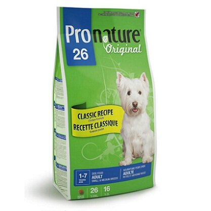 Сухой корм Pronature 26 для собак мелких и средних пород, с цыпленком (350г) (1003)