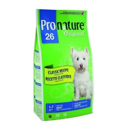 Сухой корм Pronature 26 для собак мелких и средних пород, цыпленок (2.72кг)(1034)