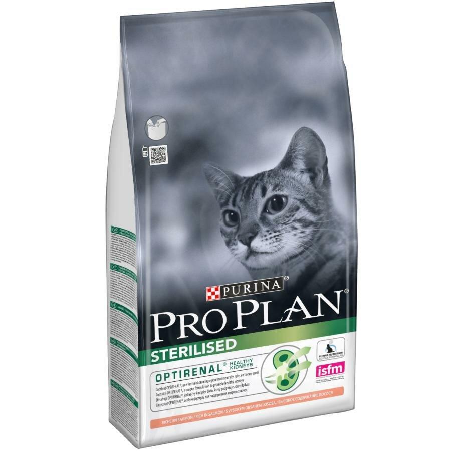 Сухой корм Pro Plan для кошек (кастрированных, стерилизованных) лосось (3 кг)