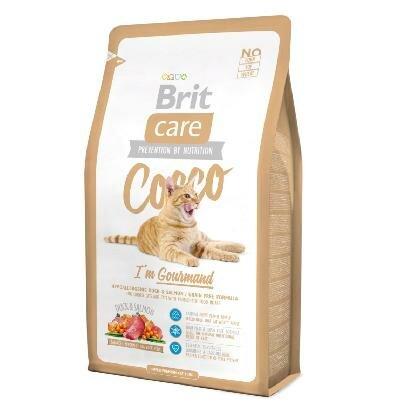 Сухой корм Brit Care Cat Cocco Gourmand беззерновой для кошек-гурманов 2кг