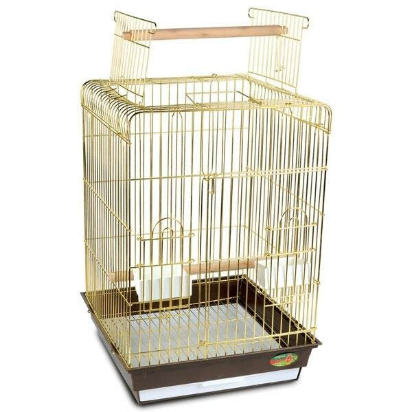 Клетка Triol N 1038А золото для птиц (48*48*86)