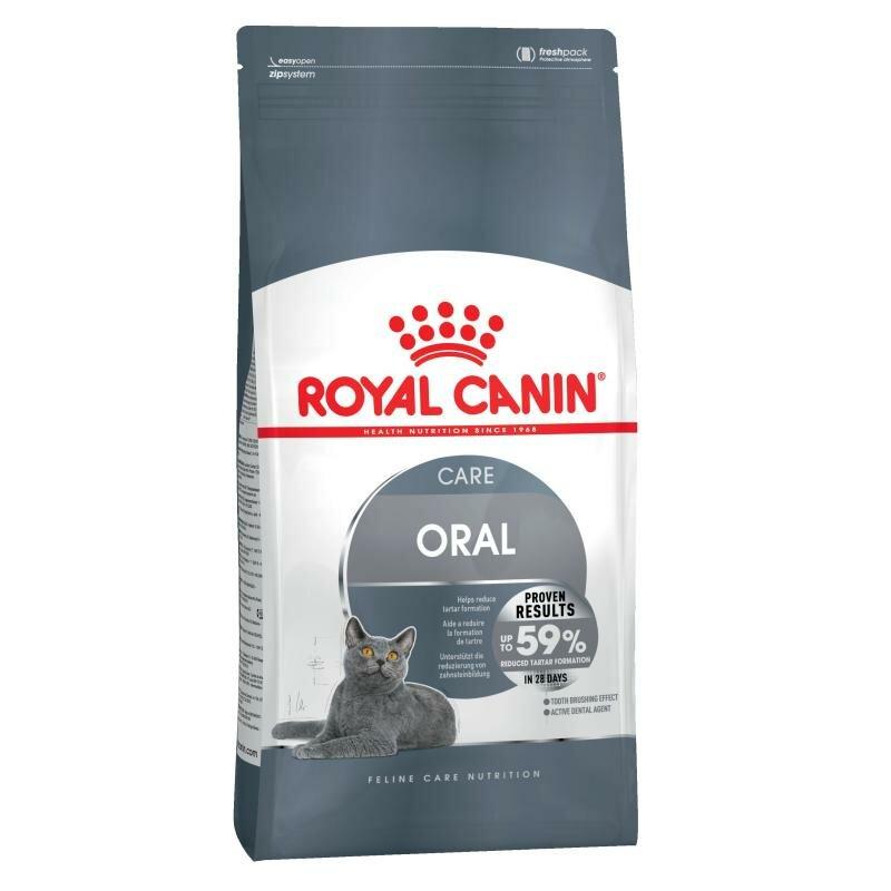 Сухой корм Royal Canin Oral sensitive для кошек (уход за полостью рта) 1,5 кг